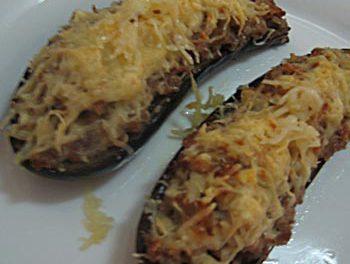 La receta del día: Berenjenas rellenas de jamón y queso