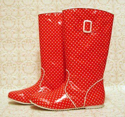 Moda bajo la lluvia