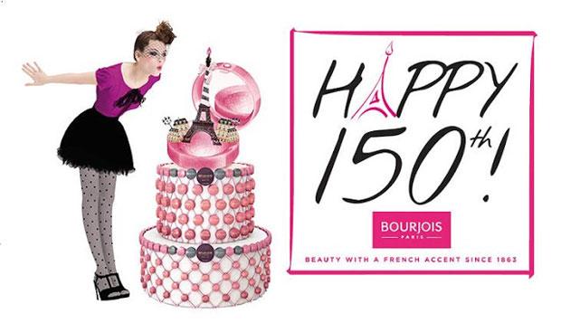 Celebramos los 150 años de Bourjois en París