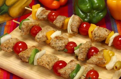 La receta del día: Brochetas light