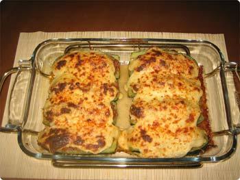 La receta del día: Calabacines rellenos