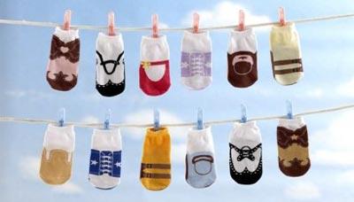 Calcetines con estilo para bebés