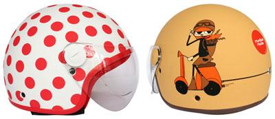 Los cascos de moto más COOL
