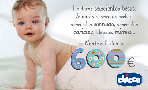 Chicco lanza la campaña «600 pasos para hacerte sonreír y cuidar de tu bebé»