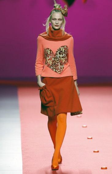 Cibeles Madrid Fashion Week 2011: Ágatha Ruiz de la Prada