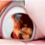 Un cinturón ecógrafo que permite ver al bebé en el vientre de la madre