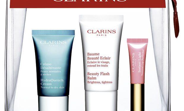 Clarins, kits de belleza por 10 euros