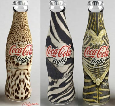 Coca-Cola se viste de Cavalli