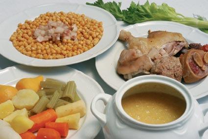La receta del día: Cocido