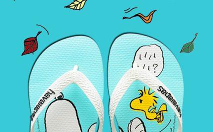Una nueva colaboración lleva a Snoopy y sus amigos a Havaianas