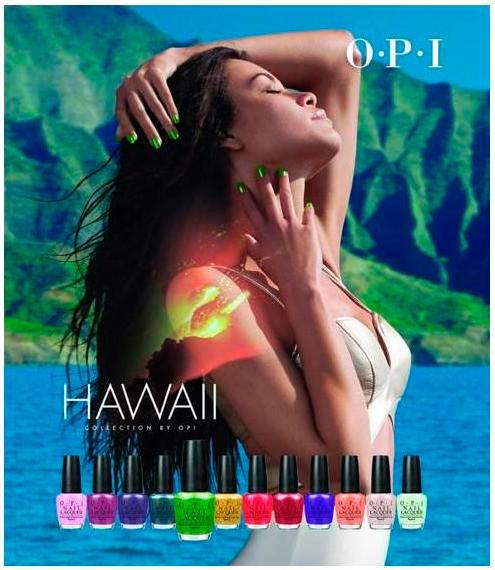 Colección Hawaii de OPI, 12 tonos frescos para uñas