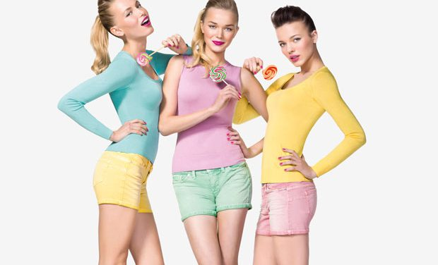 Colorea tu primavera con Pin-Up de Benetton
