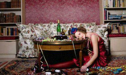 Como evitar los efectos de la Navidad: ojeras, alcohol y aumento de peso