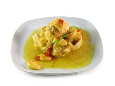 La receta del día: Conejo con salsa de almendras