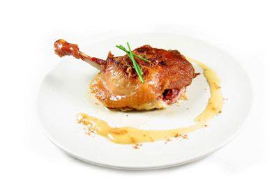 La receta del día: Confits de pato asados con compota de manzana