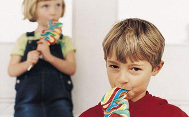 Consumo exagerado de azúcar en los niños