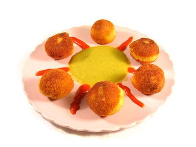 La receta del día: Croquetas de leche de soja con tofú, quinua y salsa de verduras