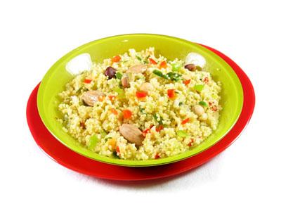La receta del día: Cus cus con frutos secos y verduritas