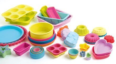 Delicias al horno, consejos para el uso de los moldes de silicona