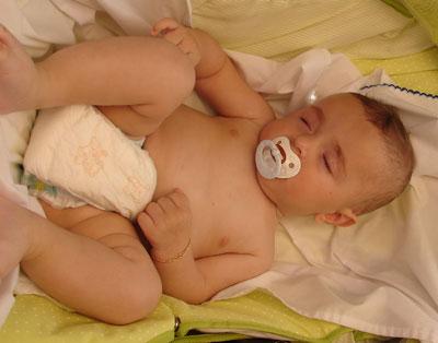 Desarrollo del bebé: Seis meses