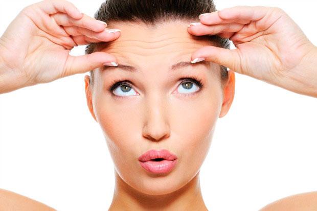 La deshidratación en la piel, da lugar al envejecimiento