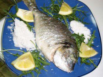 La receta del día: Dorada a la sal