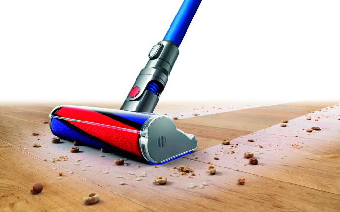 Nueva aspiradora sin cable de Dyson, V6 Fluffy absorbe tanto el polvo microscópico como las partículas más grandes
