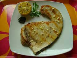 La receta del día: Emperador con pimentón al limón