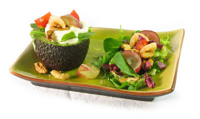 La receta del día: Ensalada de aguacate, uvas y nueces