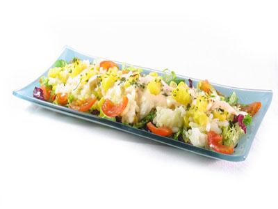 La receta del día: Ensalada de arroz con piña natural