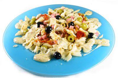 La receta del día: Ensalada templada de lacitos con salsa de yogur
