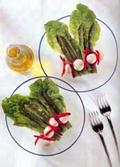 La receta del día: Espárragos trigueros con champiñones al aceite de oliva