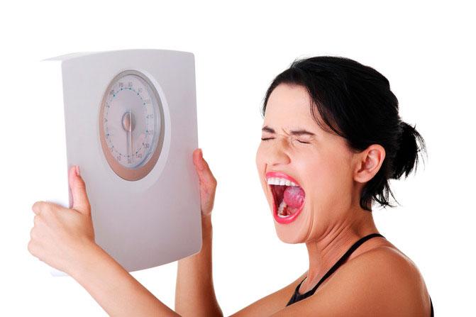 Estar a dieta engorda