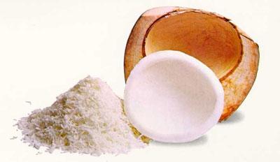 Exfoliante para los pies de coco