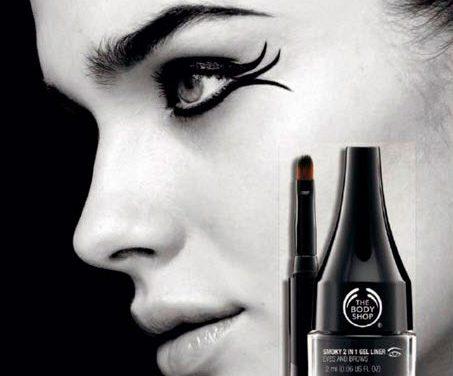 Eyeliner y perfilador de cejas en un solo producto