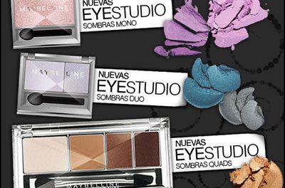 Sombras Eyestudio de Maybelline ¡Duran hasta 8 horas!