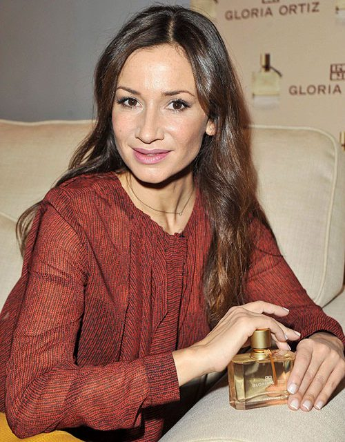Presentación de la nueva fragancia de Gloria Ortiz con Cecilia Gómez
