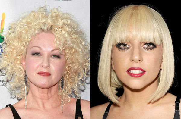 Lady Gaga y Cyndi Lauper, la nueva imagen de M·A·C Cosmetics