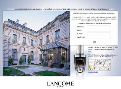 Lancôme presenta en Madrid su última innovación: El nuevo Serum Genifique