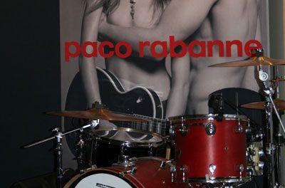 Presentación de la gira Black XS de Paco Rabanne y el grupo Sidecars