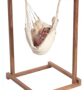 Confort y diseño para el bebé en forma de hamaca