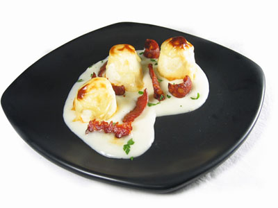 La receta del día: Huevos cocidos gratinados