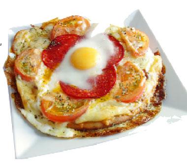 La receta del día: Huevos en pizza