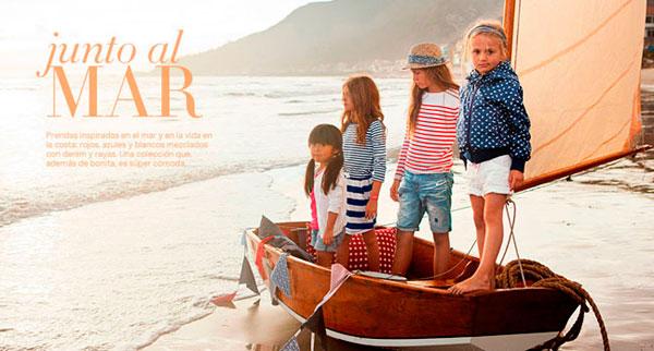 H&M, colección junto al mar para los mas peques