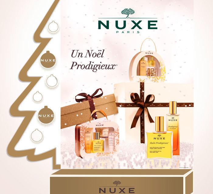 ideas para regalar en navidad cofres de belleza nuxe