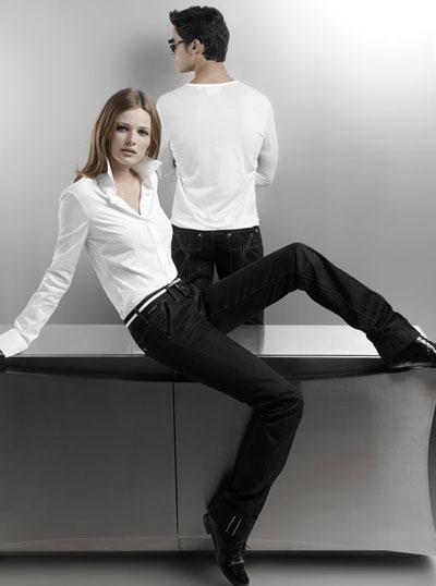 Los nuevos jeans de Karl Lagerfeld