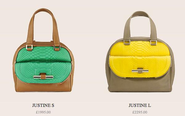 1d6a45507b3 Jimmy Choo lanza el bolso Justine - MujerGlobal