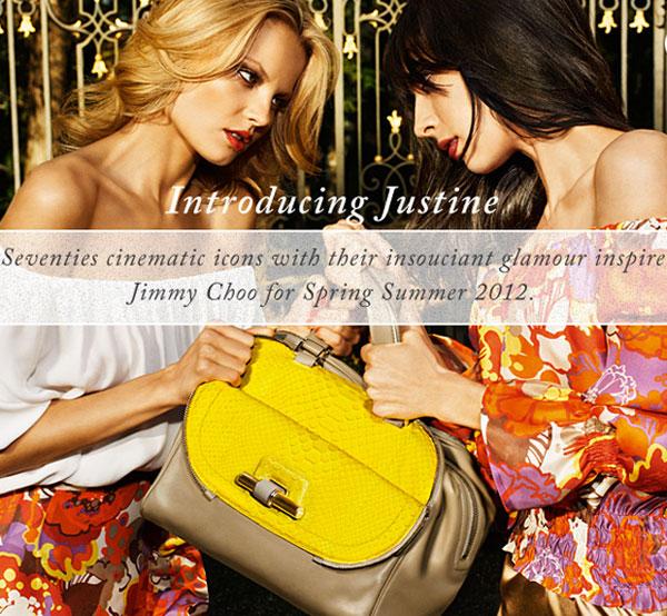 Jimmy Choo lanza el bolso Justine