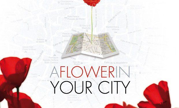 """La nueva """"app"""" de Kenzo: «A Flower In Your City»"""