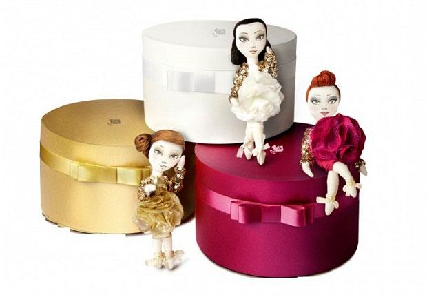Kouklitas creadas por Andrew Yang para Lancôme